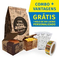 COMBO + VANTAGENS KRAFT GOURMET - COMBO100KG - CaixaMix Embalagens