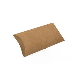 EMBALAGEM PASTEL DELIVERY KRAFT PEQUENA - 50 UNIDADES - MIX0071K-P - CaixaMix Embalagens