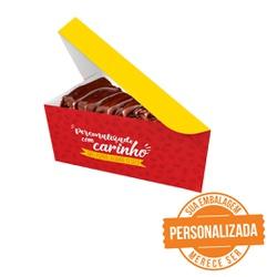 -EMBALAGEM FATIA BOLO DELIVERY PERSONALIZADA - MIX0078PERS - CaixaMix Embalagens