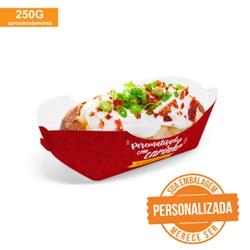 EMBALAGEM BATATA RECHEADA PERSONALIZADA - MIX0039-1PERS - CaixaMix Embalagens