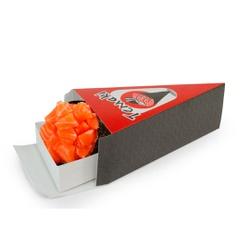 EMBALAGEM BOX TEMAKI COM BERÇO COMIDA JAPONESA - 50 UNIDADES - MIX007980 - CaixaMix Embalagens