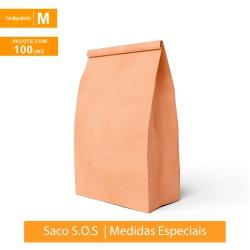 SACO S.O.S PREMIUM PARA DELIVERY LISO - TAMANHO M | 100 UNIDADES - MIX0192 - CaixaMix Embalagens