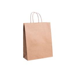 SACOLA KRAFT PARA DELIVERY - TAMANHO M - 25 UNIDADES - MIX0173 - CaixaMix Embalagens