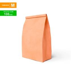 SACO S.O.S DELIVERY TRADICIONAL LISO - TAMANHO M - 100 UNIDADES - MIX0169 - CaixaMix Embalagens