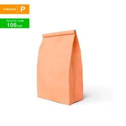 SACO S.O.S DELIVERY TRADICIONAL LISO - TAMANHO P - 100 UNIDADES - MIX0168 - CaixaMix Embalagens