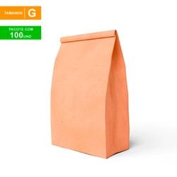 SACO S.O.S DELIVERY TRADICIONAL LISO - TAMANHO G - 100 UNIDADES - MIX0170 - CaixaMix Embalagens