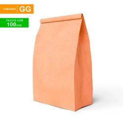 SACO S.O.S DELIVERY TRADICIONAL LISO - TAMANHO GG - 100 UNIDADES - MIX0171 - CaixaMix Embalagens