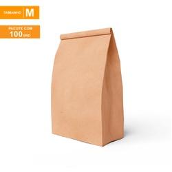 SACO S.O.S PREMIUM PARA DELIVERY LISO - TAMANHO M | 100 UNIDADES - MIXSKM-LISO - CaixaMix Embalagens