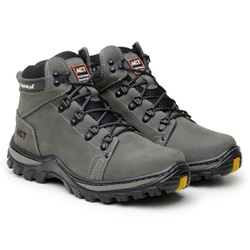 Bota ACT Footwear Robust - Cinza - calcadolivre.com.br