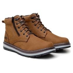 Bota ACT Footwear Zip One Osso + Meia Brinde - calcadolivre.com.br