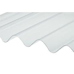 TELHA TRANSP. PVC ONDULADA 2,13 X 1,10 - Calura
