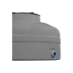 TANQUE PVC 500L CINZA FECHADA H 0,67 X D 1,11 - Calura