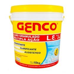 CLORO GRANULADO C/ 10KG MULTIPLA AÇAO 3X1 - Calura