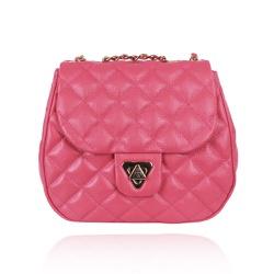 Bolsa Tiracolo Marilyn Couro Pink Blush - CAMPEZZO