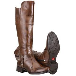 Texana Montaria Estilo Over The Knee Em Couro - 3058-pinhao - CAPELLI BOOTS