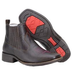 Botina Country Feminina De Bico Quadrado - 472-tamarindo - CAPELLI BOOTS