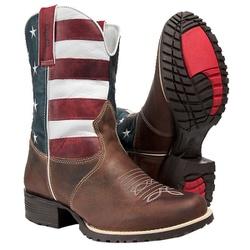 Bota Texana Bandeira Estados Unidos - 4030 - CAPELLI BOOTS