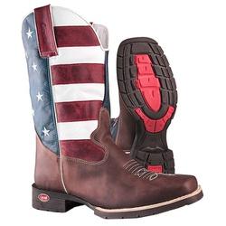 Bota Texana De Bico Quadrado Usa - 8030 - CAPELLI BOOTS