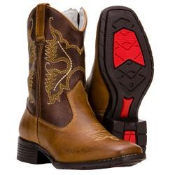 Texana Infantil Em Couro Legítimo - 528 - CAPELLI BOOTS