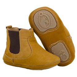 Botina Country Baby Infantil Em Couro - 051-Castor - CAPELLI BOOTS