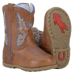 Bota Texana Infantil Solado Borracha - 054cas-azul - CAPELLI BOOTS