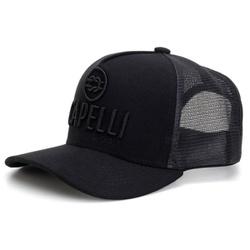 Boné Personalizado Capelli Boots Todo Preto Com Tela - bone-preto - CAPELLI BOOTS