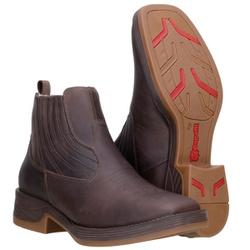 Botina Western Masculina Em Couro Original Capelli Boots - 1020-cafe-c... - CAPELLI BOOTS