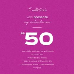 VALE PRESENTE 50 - 36963 - CAROLLA FERRARO