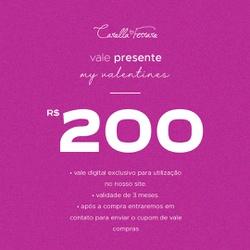 VALE PRESENTE 200 - 369962 - CAROLLA FERRARO
