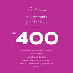 VALE PRESENTE 400 - 369963 - CAROLLA FERRARO