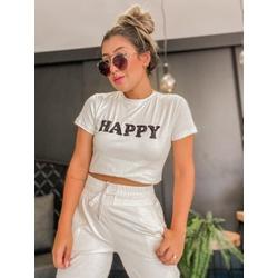 Tshirt Happy Off - 68932 - CAROLLA FERRARO