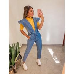 Macacão Jeans - 69076 - CAROLLA FERRARO