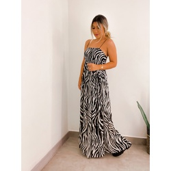 Vestido Zebra - 71444 - CAROLLA FERRARO