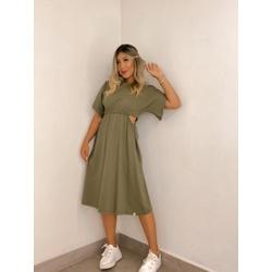Vestido CF Ciça Verde - 71048 - CAROLLA FERRARO