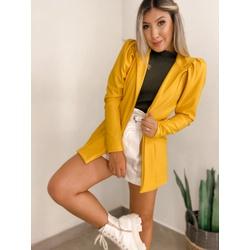 Blazer CF Princesa Mostarda - 71062 - CAROLLA FERRARO