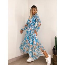 Vestido Leticia Floral - 70973 - CAROLLA FERRARO