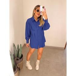 Camisa Giovana Azul - 71925 - CAROLLA FERRARO