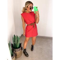Vestido CF Muscle Vermelho - 70492 - CAROLLA FERRARO