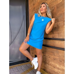 Vestido CF Muscle Azul - 70492 - CAROLLA FERRARO