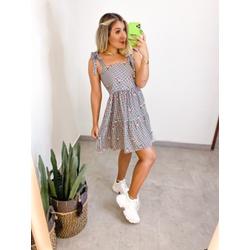 Vestido Xadrez Lizi - 70133 - CAROLLA FERRARO