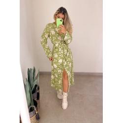 Chemise Ariel Floral Verde - 70881 - CAROLLA FERRARO