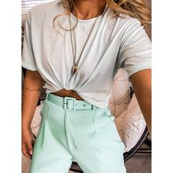 Cropped Camiseta CF Verde - 66501 - CAROLLA FERRARO