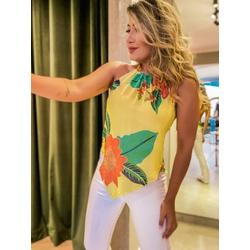 Blusa Belinda Amarela - 67447 - CAROLLA FERRARO