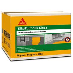 Sika Top 107 Impermeabilizante Cinza 18 Kg - Sika - Casa Anzai