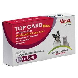 Vermífugo Top Gard Plus 600mg - Casa Anzai