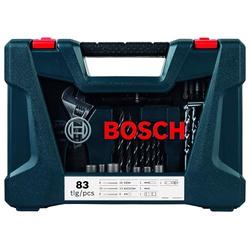 Kit Acessórios V-Line Azul Com 83 Peças - Bosch - Casa Anzai