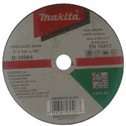 Disco de Corte para Alvenaria 180x3x22.2mm Makita - Casa Anzai