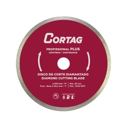 Disco de Corte Diamantado Profissional Plus 200mm - Casa Anzai