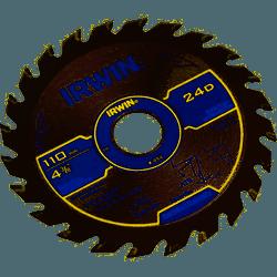 Serra Circular Widea 110mmx24dx20mm Irwin 4-3/8 - Casa Anzai