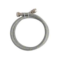 Ligação Flexível em Inox para Gás 1/2`` com Adapta... - Casa Anzai